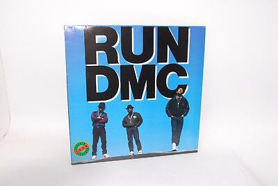 RUN DMC - TOUGHER THAN LEATHER ORIGINAL 1988 Press. LONLP38. Vinyl record LP
