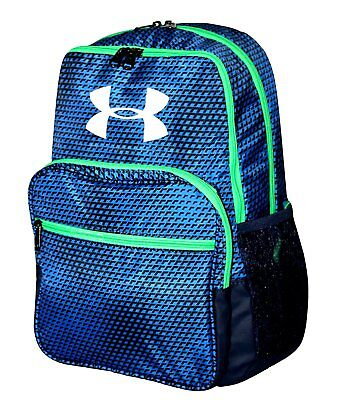 Under Armour Hall of Fame Boys' Backpack  Royal Blue/ Black/Green #1256655