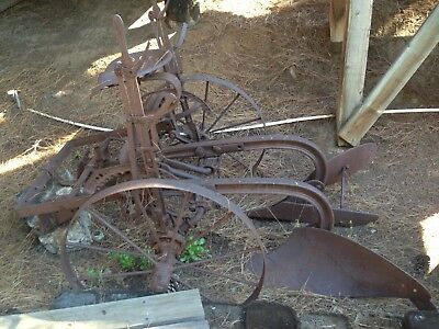 Vintage Antique Farm Equipment Plow