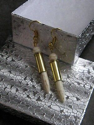 Bullet Casing Earrings For Classy Gun Lovin' Gals Valentine Gifts Cowgirls