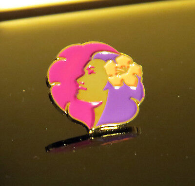 Pin HAWAIIAN Airlines Logo Pin Pilots Flight Attendants solid metal (0.8 inches)