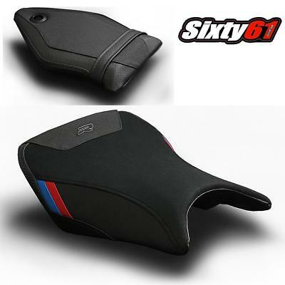 BMW S1000R Seat Cover 2014 2015 2016 2017 Black Red Blue Front-Rear Luimoto