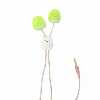Gourmandise Sumikko Gurashi character earphone penguins SMK-10A #R1610 F/S