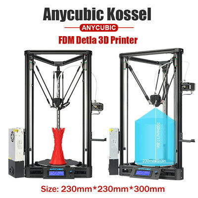 ANYCUBIC 3D Printer Auto-Level Kossel Plus Linear Guide DIY Kit Large Print Size