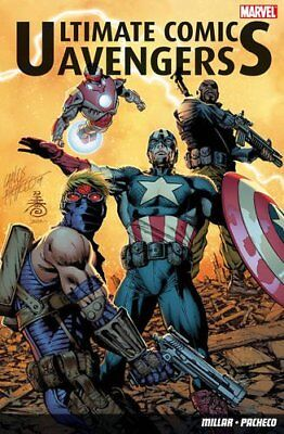 Ultimate Comics: Avengers by Mark Millar Paperback Book The Cheap Fast Free Post