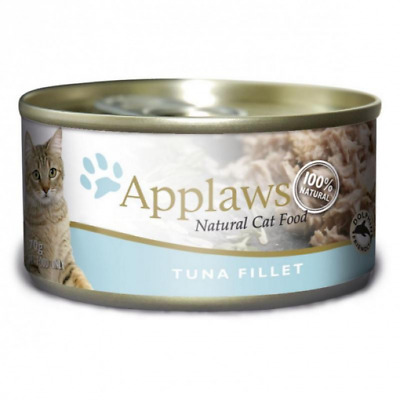 NEW Applaws - Tuna Fillet - Canned Cat Food - 70gm