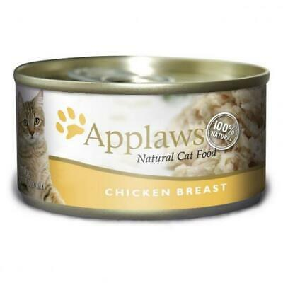NEW Applaws Tin Cat Chicken Breast - 70gm