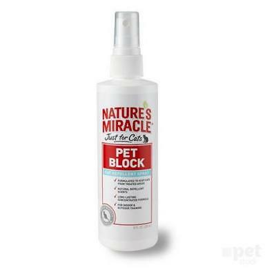 NEW Just for Cats - Pet Block Repellent Spray 236ml