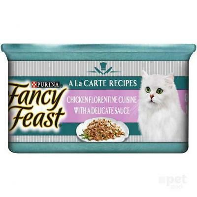 NEW Fancy Feast Sensations Florentine Chicken in a Delicate Sauce - 85gm