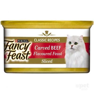 NEW Fancy Feast White Label Carved Beef Flavour Feast - 85gm