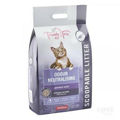 NEW Trouble and Trix - Lavender Litter - Scented Clumping Cat Litter