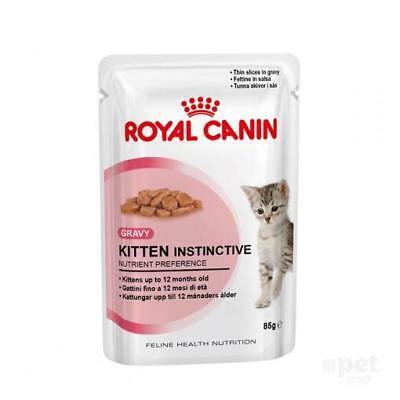 NEW Royal Canin Kitten Instinctive in Gravy - 85gm