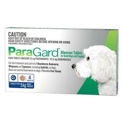 ParaGard Allwormer for Small Dogs and Puppies