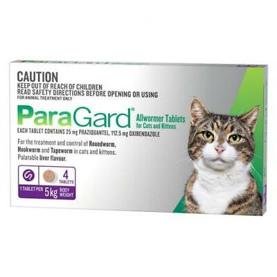 NEW ParaGard Allwormer for Cats and Kittens