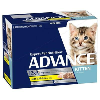 NEW ADVANCE Kitten 2-12 Months with Chicken in Jelly
