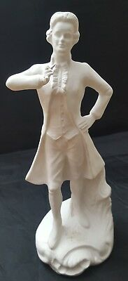 """10-1/2"""" Rich Gre'g 1950 Georges Calif ceramic unpainted VERY RARE HTF Victorian"""