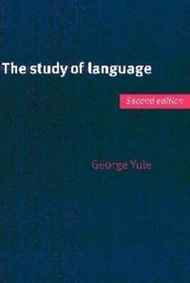 The study of language by George Yule (Paperback)