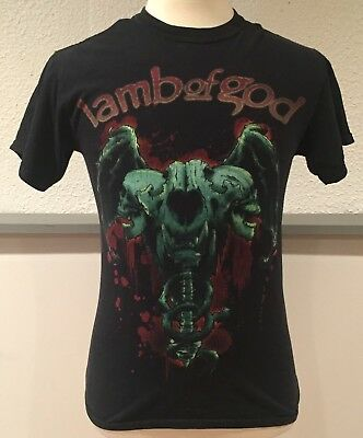 Vintage LAMB OF GOD 2004 Laid To Rest Tour Concert Band T Shirt Metal Small