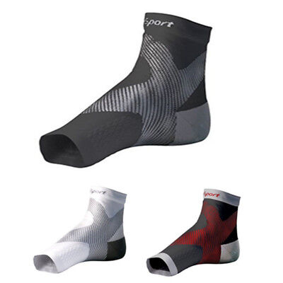 1Pair Unisex Support Ankle Socks Anti Fatigue Foot Guard Brace Swelling Relief