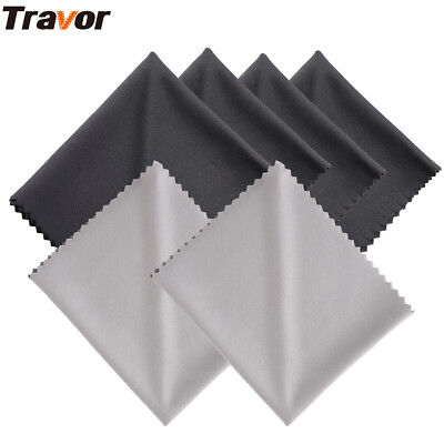 6pcs Microfiber Lens Hood Cleaning Cloths for Camera Lens DSLR Glasses TV Screen