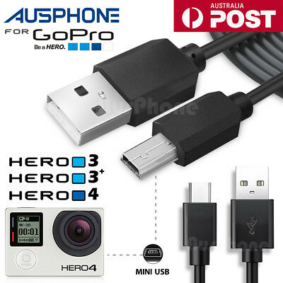 USB 2.0 to Mini USB Mini-B 5 Pin Data Charging Cable Adapter DS PC Camera Gopro
