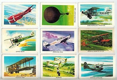 Tip Top Bread - Sunblest Air Race - Collector Cards (9)