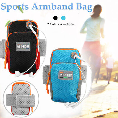 Sports Running Jogging Arm Band Holder Gym Armband  Bag Case For iPhone X / 8 8+
