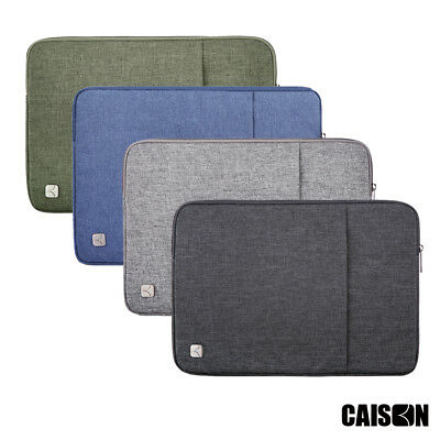 """CAISON 13.3 14 15.6 17.3"""" inch Laptop Sleeve Case Computer 10.1 inch Tablet Case"""