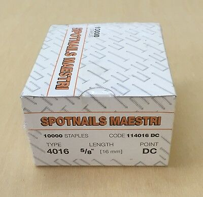 1 x  Box of  4016 Staples for ME Maestri 4000 Gun/Staplers/Flooring tools