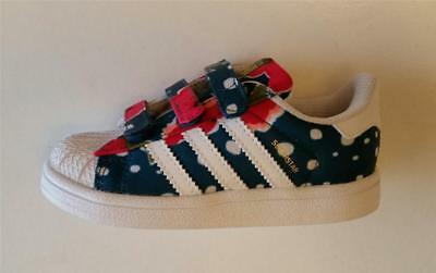 adidas infant girls superstar comfort trainers shoes new s80152 size 3k & 8.5k