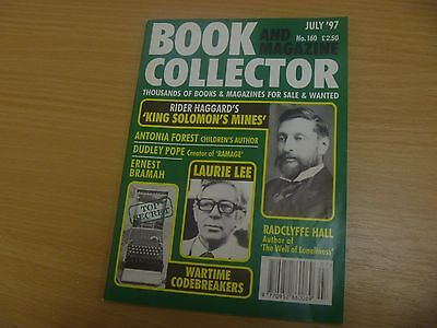 BOOK & MAGAZINE COLLECTOR No 164 - DICK FRANCIS, OSCAR WILDE, ANTHONY POWELL