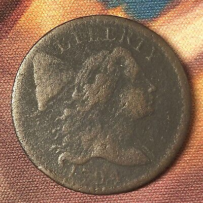 1794 Liberty Cap Large Cent S-59