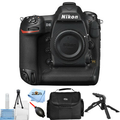 Nikon D5 DSLR Camera (Body Only, Dual XQD Slots) STARTER BUNDLE BRAND NEW