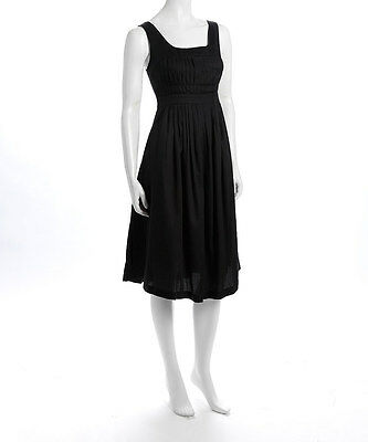 NWT Heather Lehmann Black Marie Maternity & Nursing Dress - Size 8 ( Medium)