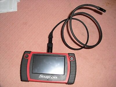 Snap on video inspection borescope
