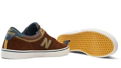 Mens New Balance Numeric 255 Skateboarding Shoes Copper Brown    (Brz)