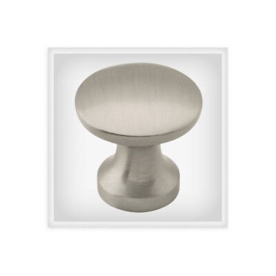 "(20 PACK) Decorative Knob 1"" Satin Nickel L-PN0058C-SN-A"