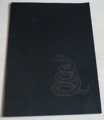 METALLICA - Wherever I May Roam - Official Tour Programme 1991-92-93