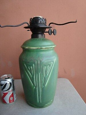 "Rookwood Hand Incised 11.5"" Matte Green Arts & Crafts Factory Oil 1905"