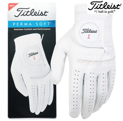 New Titleist Permasoft Leather Golf Glove (Choose Quantity)