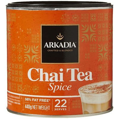 Arkadia Spice Chai Latte Powder - 440g Can
