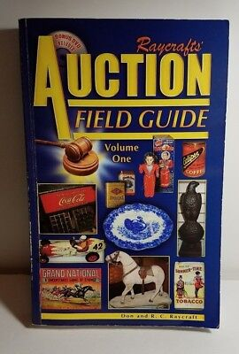 Raycrafts' Auction Field Guide - DVD Included SIGNED by Don & RC Raycraft 3/500