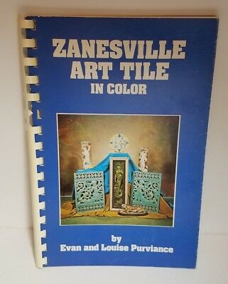Zanesville Art Tile by Evan & Louise Purviance  (1972) Full Color