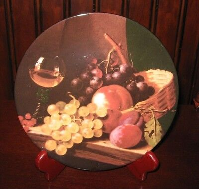 Royal Grafton Fine Bone China Mini Plate Still Life Painted by Edward Ladell