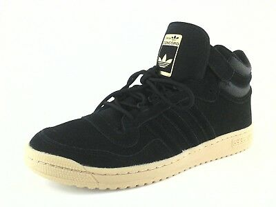 check-out 2ef19 62764 ADIDAS ORIGINALS CONCORD II BW0587 Mens Mid Top Shoes Bk Suede Gold Gum US  13