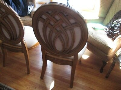 3 dining/side French Provincial chairs-Pickup only Ashland, KY