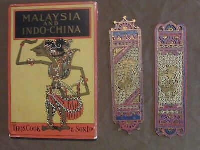 Malaysia and Indo-China Tour Guide with Maps (1926)