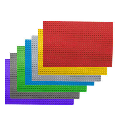 Base Plate Multicolour Building Blocks Board Compatible Baseplate 32x32 Studs