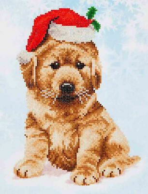 Diamond Dotz Embroidery Facet Art Kit, Intermediate Christmas Lab