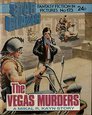 The Vegas Murders,starblazer Fantasy Fiction In Pictures,no.173,1986